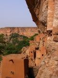Tellem architecture mali. Tellem ruines in dogon, mali Royalty Free Stock Image