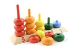Tellend Stuk speelgoed Stock Fotografie