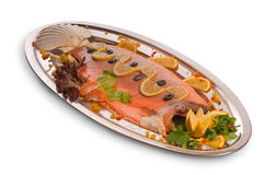 Teller des Kaviars Stockbild