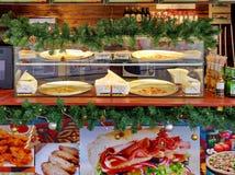 Teller van kruidenierswinkelopslag Stock Afbeeldingen