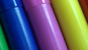 Tellers, het Schrijven, Bureaulevering, Art. stock video
