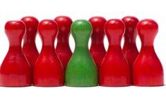 Tellers met verschillende Kleur Royalty-vrije Stock Foto's