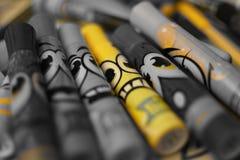Tellers van kleuren Stock Fotografie