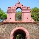Tellicherry堡垒, Kannur,喀拉拉,印度入口  库存照片