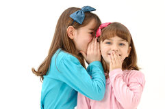 Telling secrets Royalty Free Stock Image
