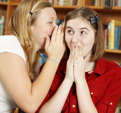 Telling Secrets in School Stock Images