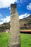 Tello Obelisk Royalty-vrije Stock Foto