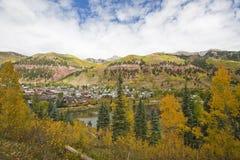 Tellurid, Kolorado stockfotos