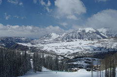 Tellurid-Ski-Bereich Lizenzfreie Stockbilder
