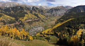 Telluride το φθινόπωρο Στοκ εικόνα με δικαίωμα ελεύθερης χρήσης