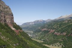 Telluride Canyon #2 Stock Photos