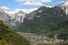 Telluride in de Lente Royalty-vrije Stock Foto's