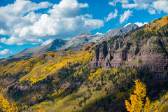 Telluride Fall Colors Colorado Landscape Royalty Free Stock Images