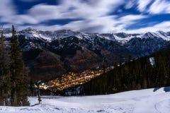 Telluride, Kolorado i San Juan góry, fotografia royalty free