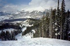 Telluride Ski Trail Stock Image