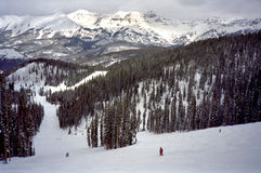 Telluride Skiing Royalty Free Stock Images
