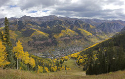 Telluride Valley Royalty Free Stock Images