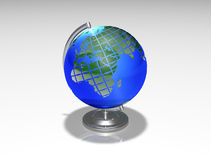 Tellurion da esfera do globo Fotografia de Stock