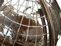 Tellurion della sfera del globo Immagini Stock