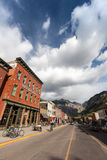 Tellurure, le Colorado Photographie stock libre de droits