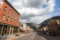 Tellurure, le Colorado Image libre de droits