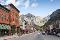 Tellurure, le Colorado Photographie stock