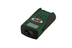 Telémetro del laser Imágenes de archivo libres de regalías