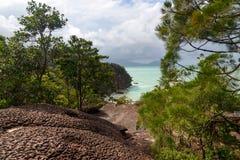 Telok padan kecil Cliff in Bako National Park Stock Image