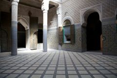 Telouet ancient kasbah Stock Image