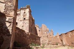 Telouet ancient kasbah ruins Royalty Free Stock Photos
