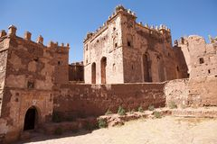 Telouet antyczne kasbah ruiny Fotografia Stock