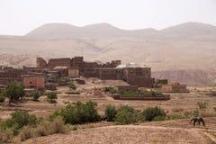 Telouet Kasbah在摩洛哥 库存照片