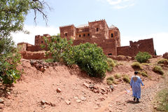 Telouet kasbah Royalty Free Stock Photo