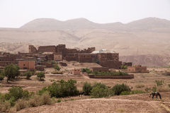 Telouet Kasbah in Morocco Stock Photo