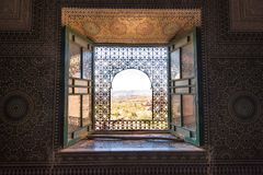 Telouet Kasbah, Morocco. Telouet, Morocco - Nov 5, 2017: Telouet Kasbah is a Kasbah along the former route of the caravans from the Sahara over the Atlas Royalty Free Stock Images