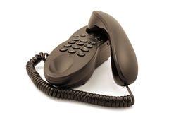 Telphone legato con corde 2 immagini stock