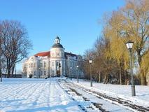 Telsiai Diocesan Curia, Lithuania Stock Photos