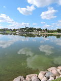 Telsiai stad, Litauen Royaltyfri Bild