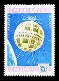 Telstar-1 (10 7 1962)空间卫星serie,大约1966年 库存图片