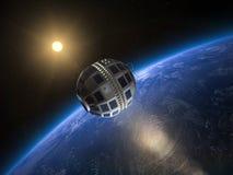 Telstar 1 satellite, 1962 illustration stock