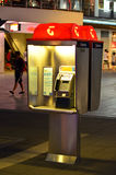 Telstra telephone booth Stock Photos