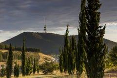 Telstra-Turm am frühen Morgen Stockfotografie