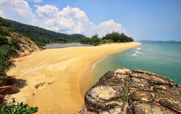 Teluk Gadung beach Royalty Free Stock Photography