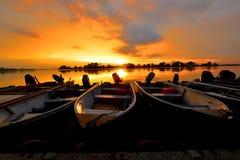 Teluk Intan Riverfront Royalty Free Stock Photo