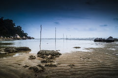 Teluk Sisek Beach Stock Photo