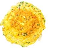 Telur Dadar煎蛋卷II 库存照片