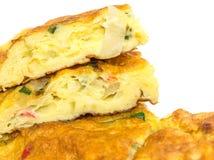Telur Dadar omelett VIII Royaltyfria Foton