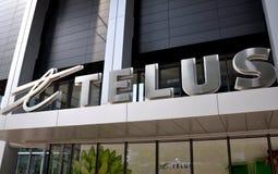 Telus building Stock Image