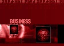 Tema 001 di affari Immagini Stock Libere da Diritti