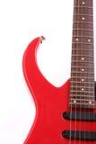 Tema abstrato da guitarra, guitarra elétrica Imagem de Stock